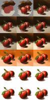 Apple Step by step...