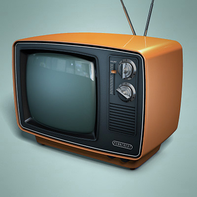 Retro TV 3D Model by TheRealPlasticboy on DeviantArt