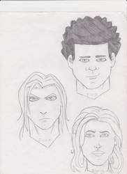 UnBound Main Characters by hathor422