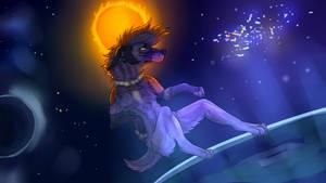 Space Doggo by Sniv-The-Unworthy