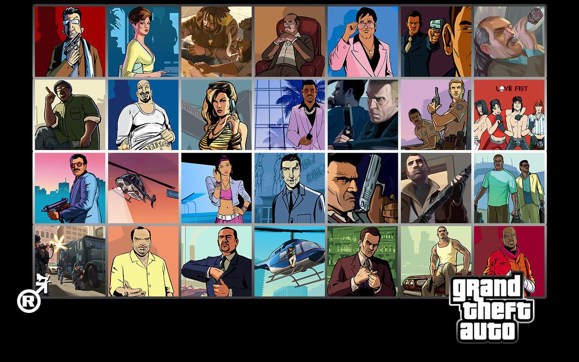 Grand Theft Auto Wallpaper By Raptomex