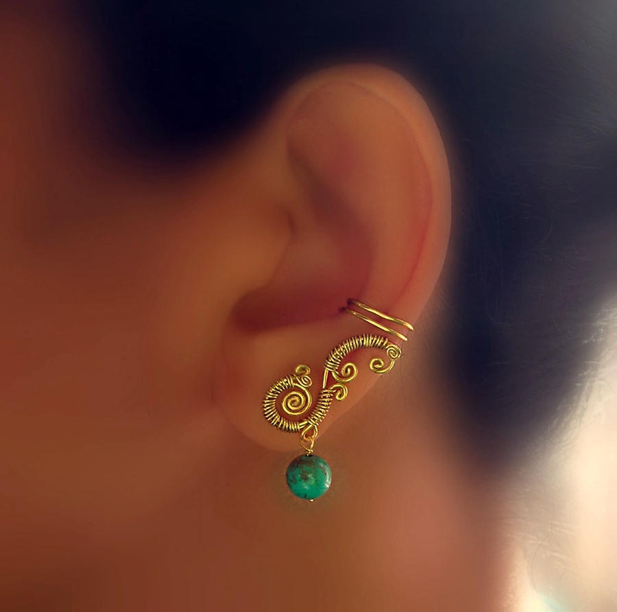 sophia ear-cuffs pair by pikabee