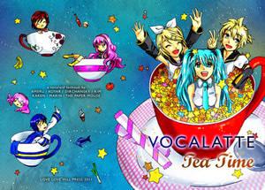 Vocalatte Tea Time Cover
