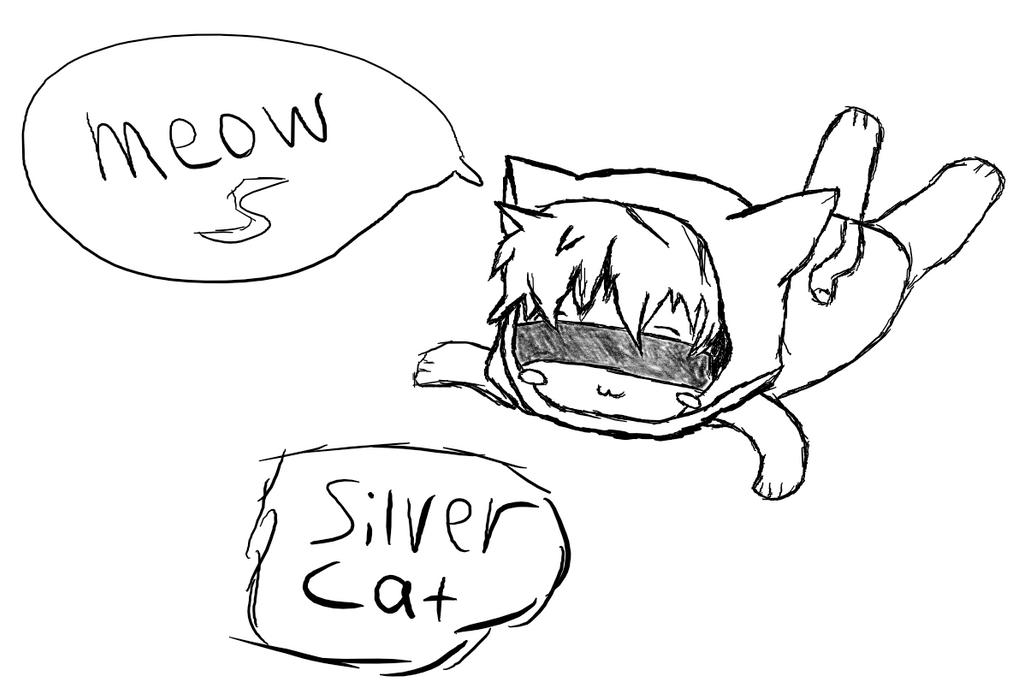 Silver Cat by SilverTnT