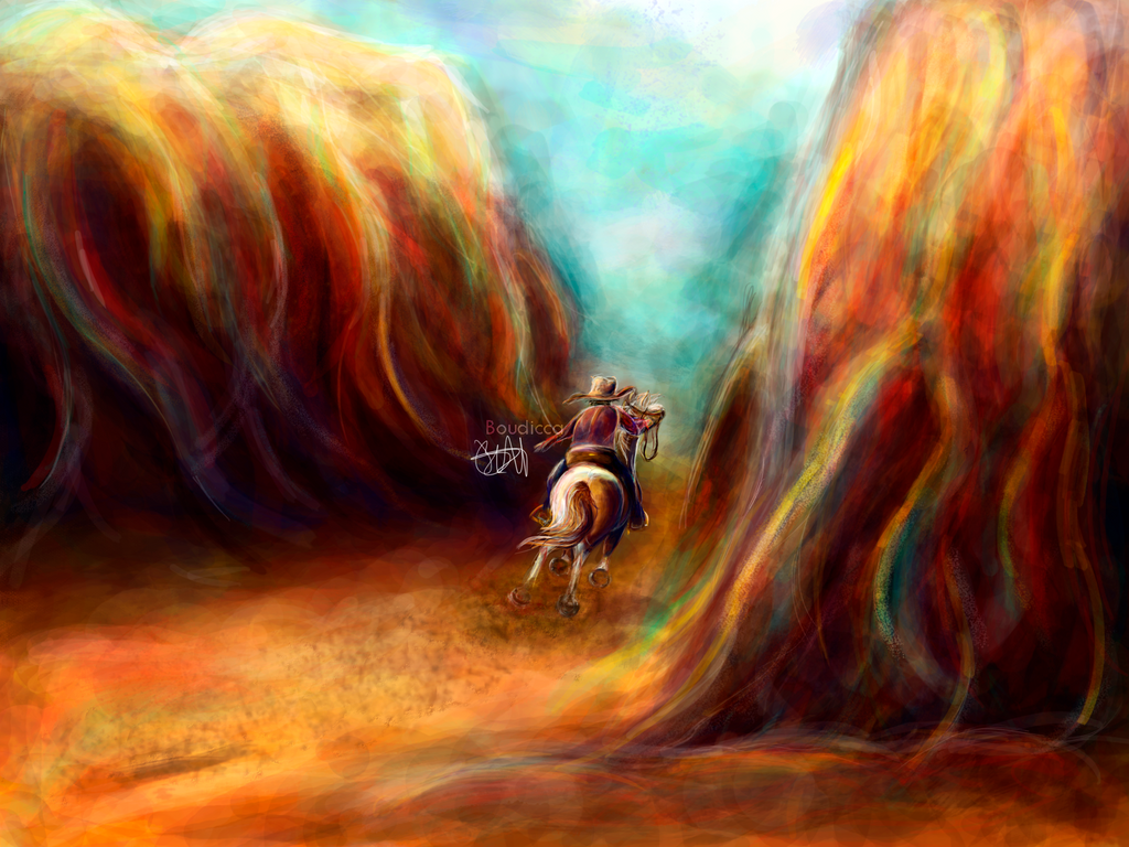 Cowboyride by Boutzzz