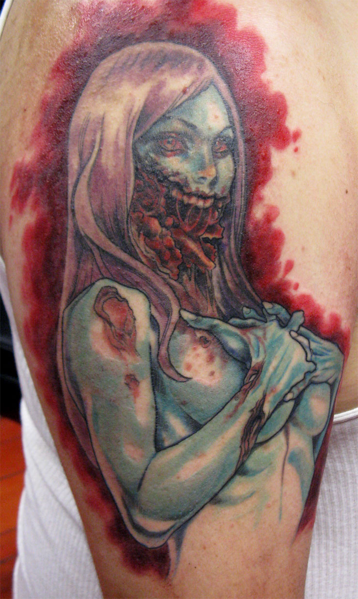Lucy Jawless by johndevilman