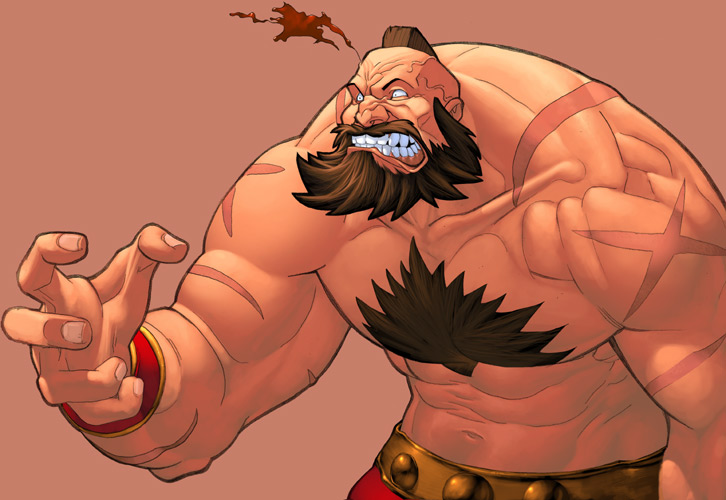 Zangief by johndevilman