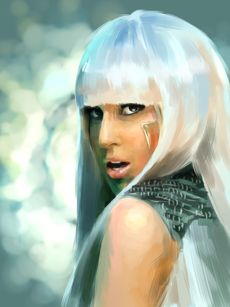 Lady Gaga by Cooooookies