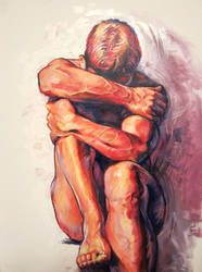 Figure Painting 1 by Cooooookies