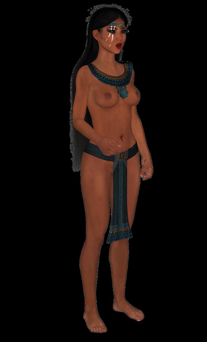 Azteca princesa 3 by Juantelos
