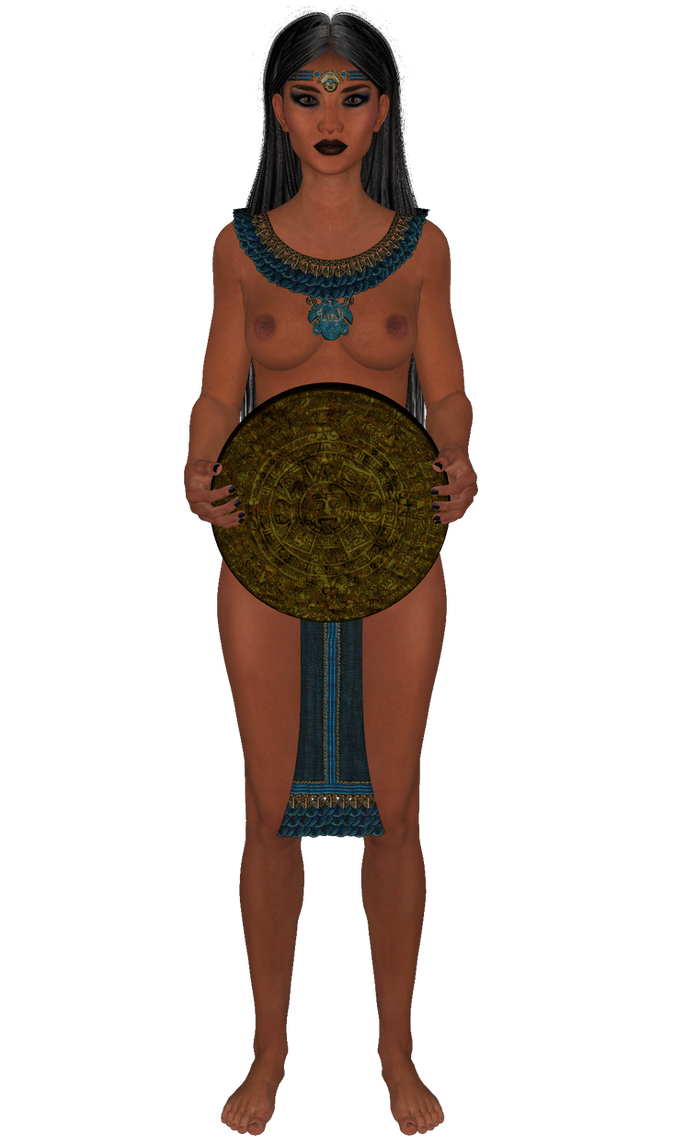 Azteca princesa 4 by Juantelos