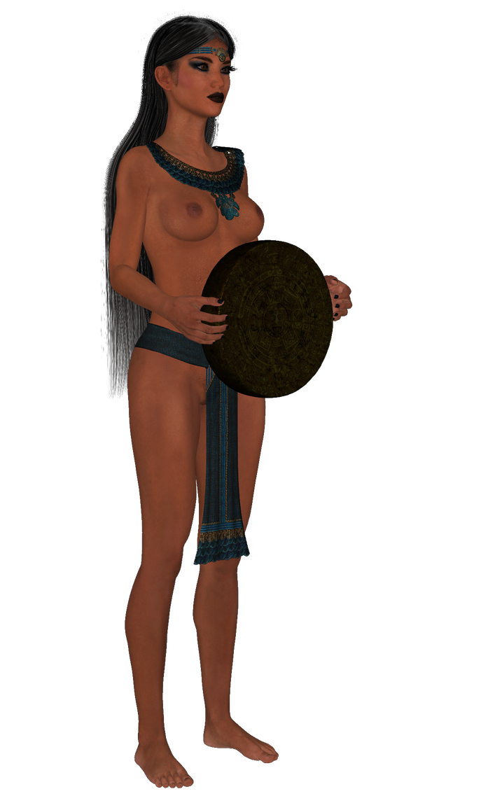 Azteca princesa 5 by Juantelos