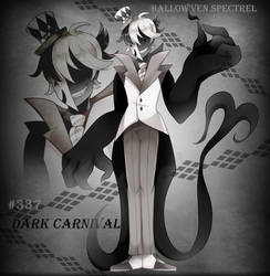 [CLOSED] Dark Carnival -Hallow'ven Spectrel Adopt by Kittybaka-chan