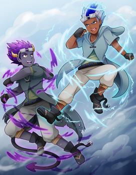 C: Thundah VS Mischief Transformed!