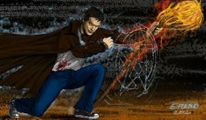 Harry Dresden Wizard for Hire by Elmer Pueblo