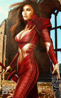 Red Woman by mister-fix