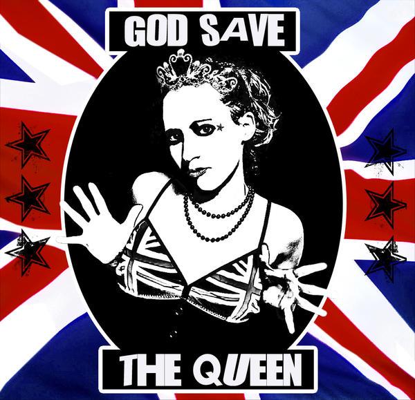GOD SAVE THE QUEEN THE SEX PISTOLS - Moïcani - L'Odéonie