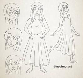 0294 - Mais Character
