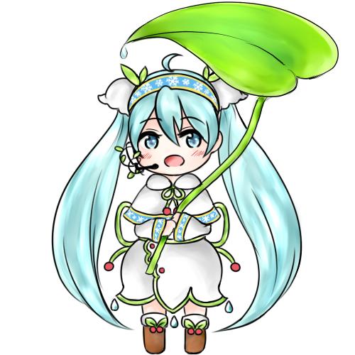 Snow Miku 2015 by angiecake66