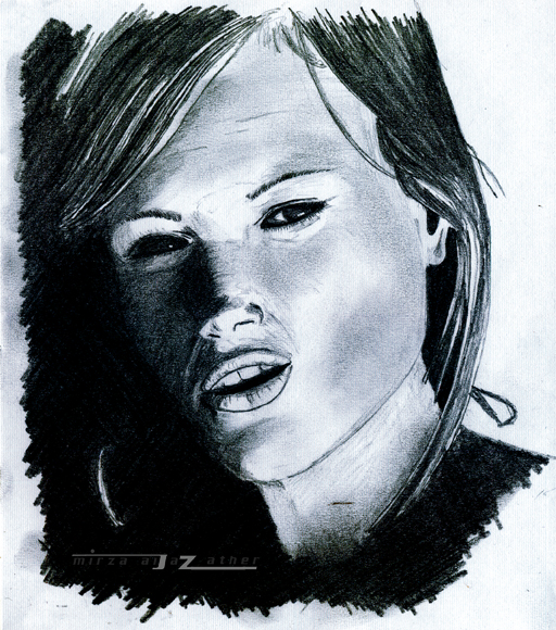 Charmine Sketch by black-prince