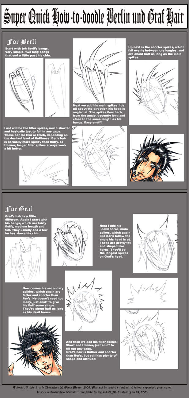 .+GBOYS-Hair-Tutorial+. by Hatter2theHare