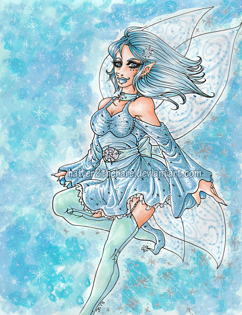 .:Frost.Fairy:. by Hatter2theHare