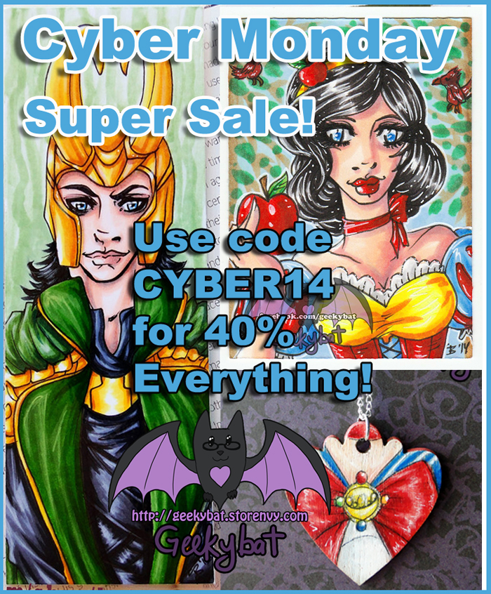 Cyber Monday Super Sale by Hatter2theHare