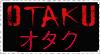 Stamp- Otaku by Boofrickittyhoo
