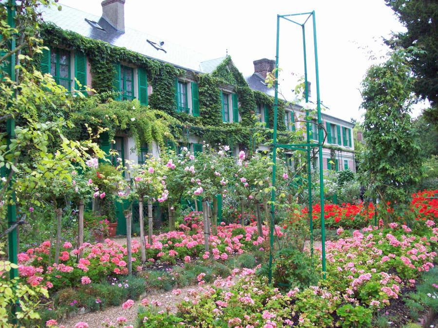 Claude Monet 39 S House By Speedymakac On Deviantart