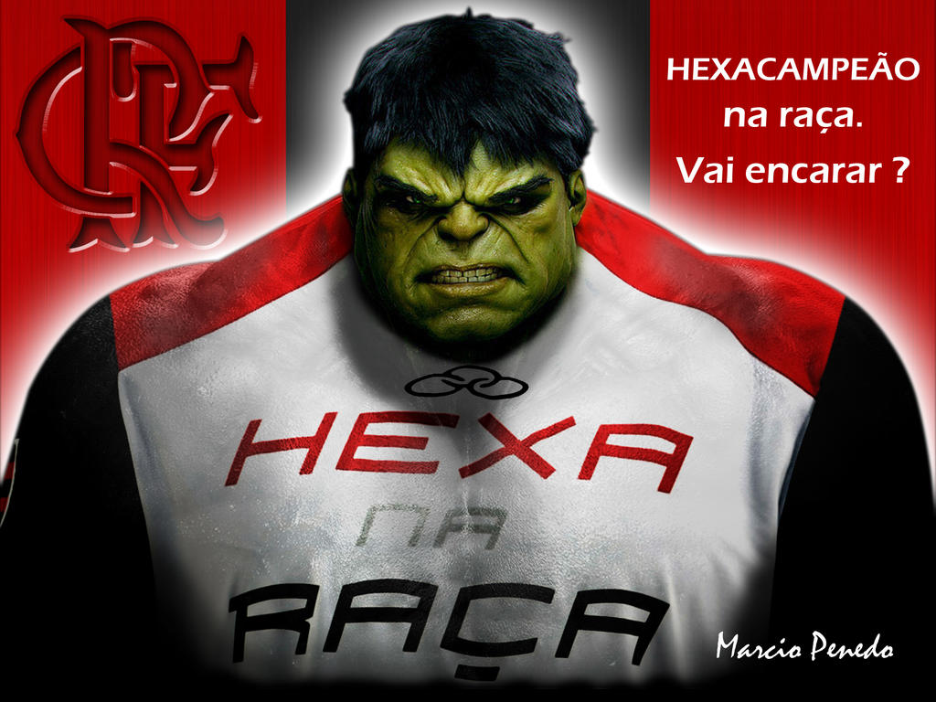 6e91ad96b6ff8 Flamengo  HULK  by Penedo on DeviantArt