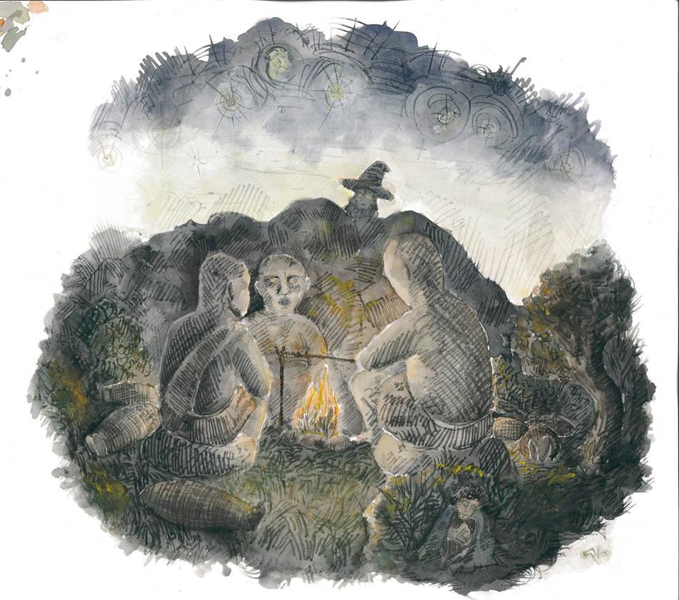 Troll Bonfire by Attiris-V