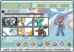 My bro's trainer card by Pointsettia