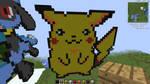 Minecraft Pikachu