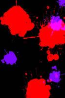 Splatter 1 by Pointsettia