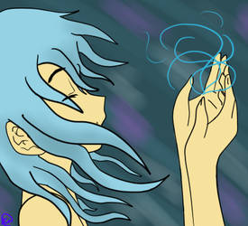Kiria: the water Elemental by Pointsettia