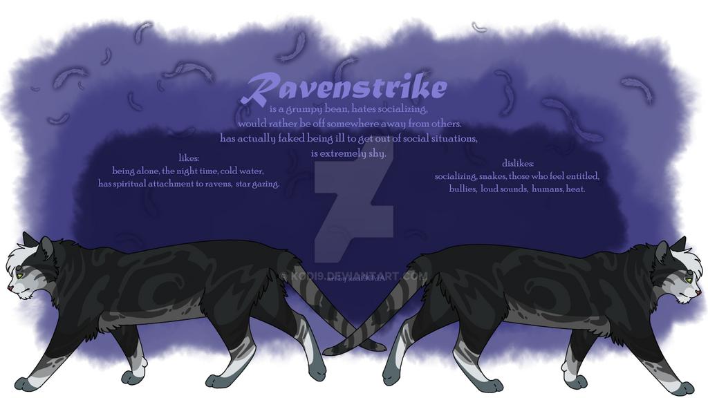 Ravenstrike Character Sheet by Kodi9