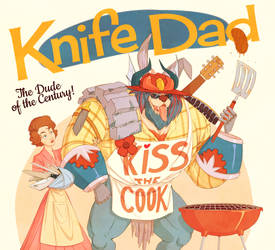 Knife Dad by antodemico