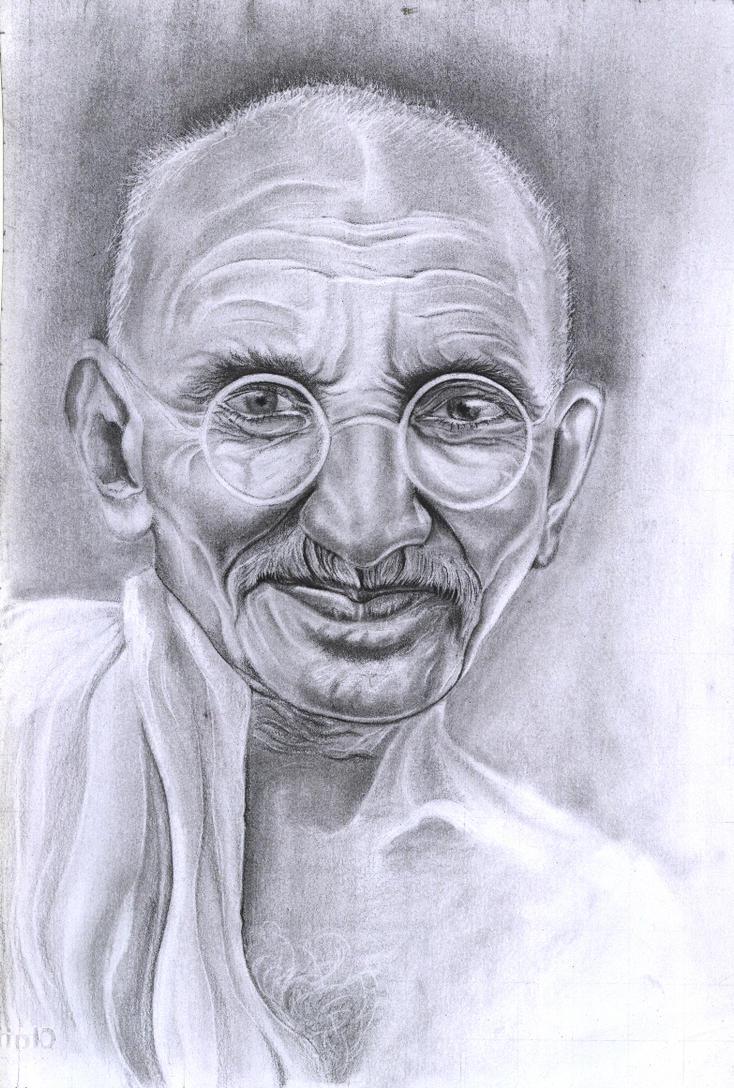 Gandhi by Persiangirl
