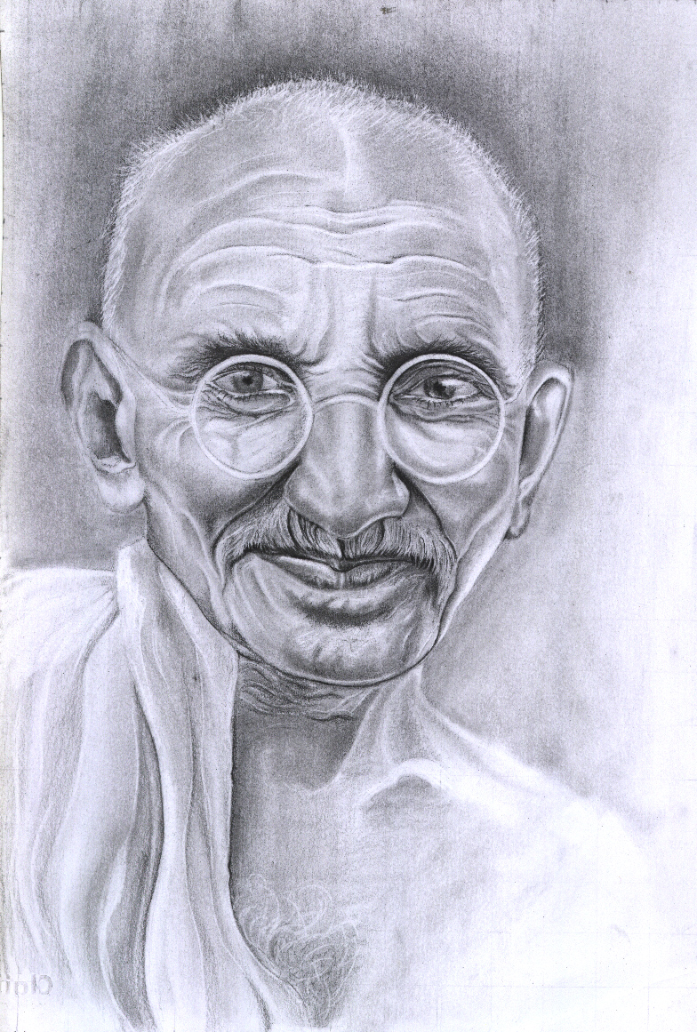 Gandhi by Persiangirl
