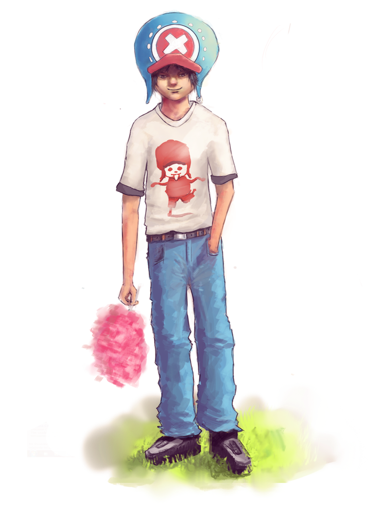 Tony tony chopper-Human version by yuzero on DeviantArt