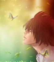 Death Note:L fanart by yuzero
