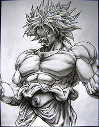 Broly the super saiyan