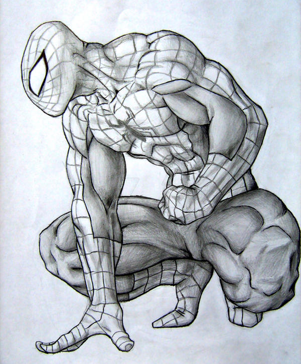 Spiderman by TicoDrawing