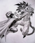 Goku Ssj4 vs Superman