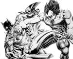 Vegeta vs Batman