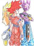 Battle of Gods- DBZ by TicoDrawing