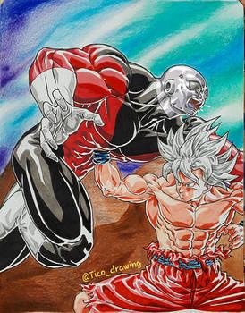 UI Goku vs Jiren