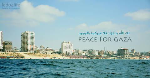 Gaza Need Some Peace by ledo4life