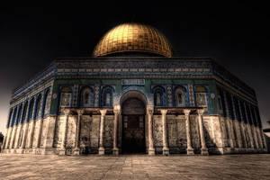 Dome of The Rock Jerusalem Palestine.