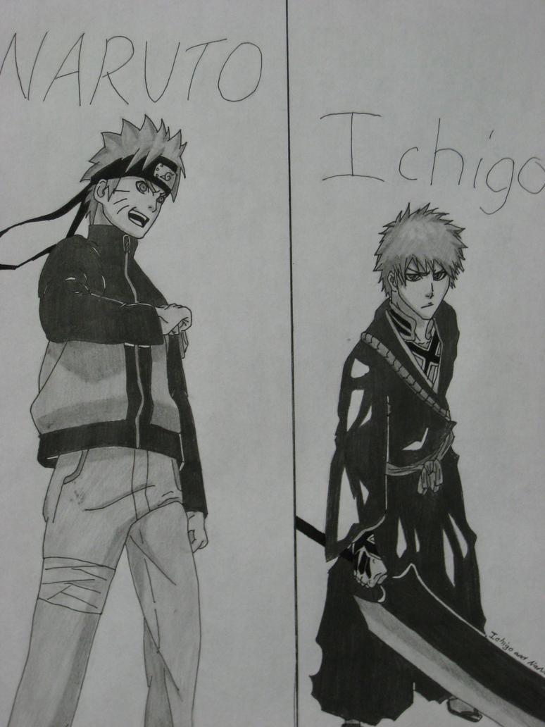 Ichigo and Naruto by captaingrimmjow on deviantART